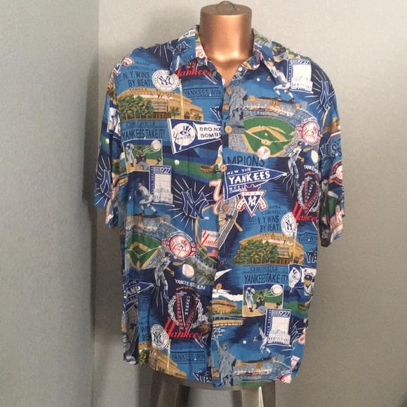 3e6b108d reyn spooner Shirts | New York Yankees Hawaiian Shirt | Poshmark